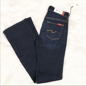 7 For All Mankind bootcut jeans 26 new with tags